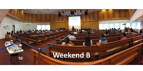 English Service 1 - Sunday, 11 Apr 2021 (Weekend B) tickets
