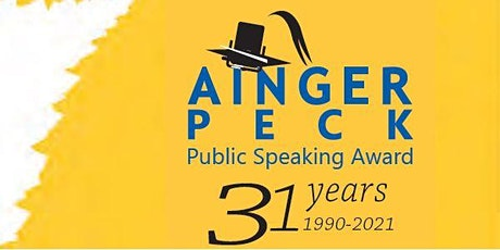 Ainger Peck Award 2021 - Heats tickets