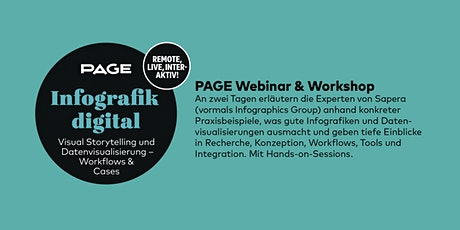 PAGE Webinar & Workshop »Infografik digital« Tickets