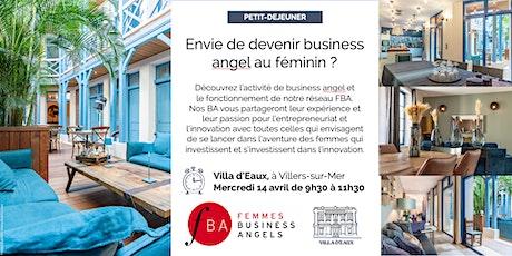 Petit-déjeuner FBA Femmes Business Angels Normandie billets