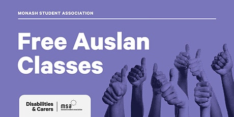 Free Auslan Classes tickets