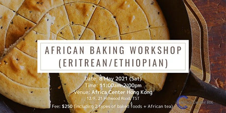 African Baking Workshop- Eritrea /Ethiopia tickets
