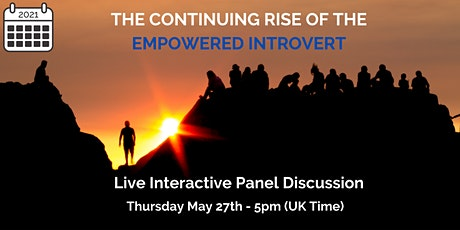 The Continuing Rise of The Empowered Introvert tickets