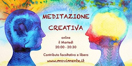 Meditazione Creativa biglietti