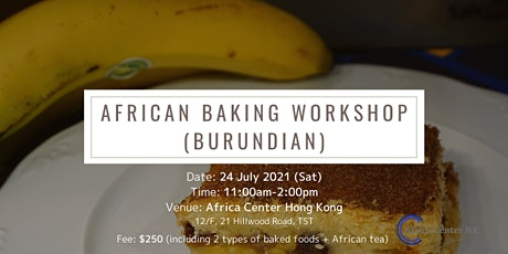 African Baking Workshop (Burundian) tickets