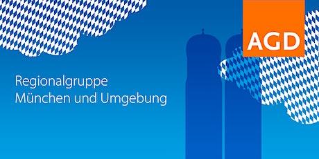 Design Stammtisch AGD – Netzwerktreffen München und Region (II-2021) Tickets