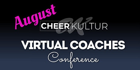 Cheer Kultur August Coaches Conference tickets