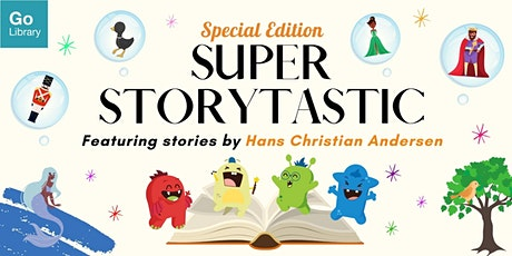 Andersen Super Storytastic for 7-10 years old @ Queenstown Public Library tickets