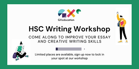 FREE HSC Essay/Creative Writing  Holiday Workshop tickets