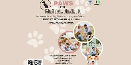 Paws for Mental Health tickets