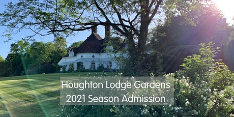Admission to Houghton Lodge Gardens 2021 Season tickets