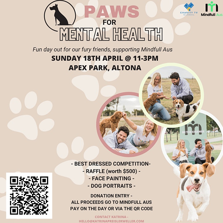 Paws for Mental Health image