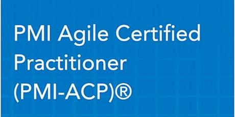 PMI-ACP Certification Training In San Jose, CA tickets