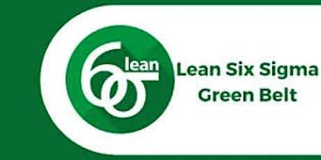 Lean Six Sigma Green Belt 3 Days Virtual Live Training in London City tickets