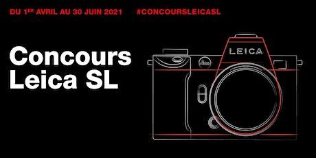Concours Leica SL système au Leica Store Beaumarchais billets