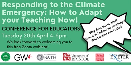 CLIMATE CHANGE EDUCATION CONFERENCE tickets
