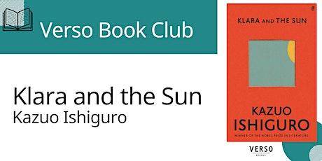 Verso Book Club - 'Klara and the Sun' tickets