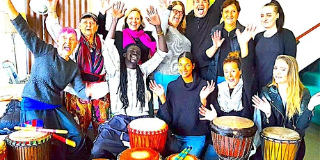 Creating Connection with African Drumming :  Seniors Festival 2021 tickets