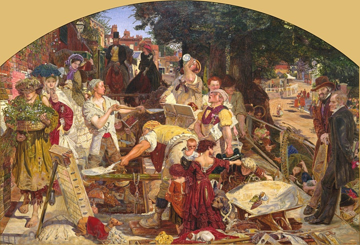 Manchester's Pre-Raphaelite Paintings, on Zoom, with Ed Glinert image