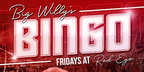 Big Willy's Monthly Base Bingo tickets