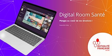 Digital Room Santé Mutualité Française Bretagne tickets