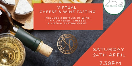 Cheese & Wine Tasting tickets