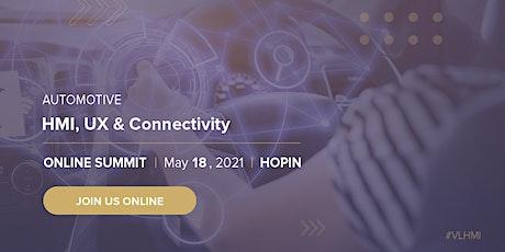 Automotive HMI, UX & Connectivity Summit tickets