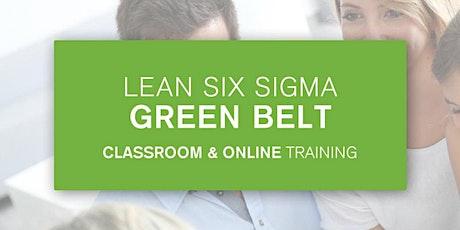 Lean Six Sigma Green Belt Certification Training In Brownsville, TX tickets