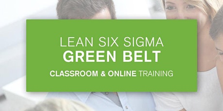 Lean Six Sigma Green Belt Certification Training In Chicago, IL tickets
