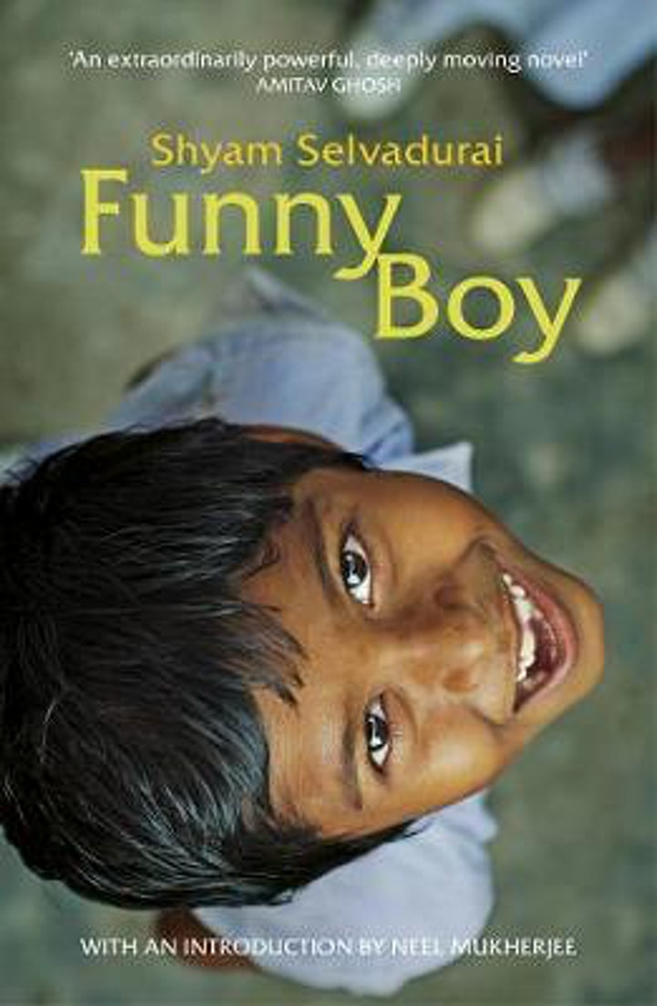 Emily's Zoom Book Club - July - Funny Boy image