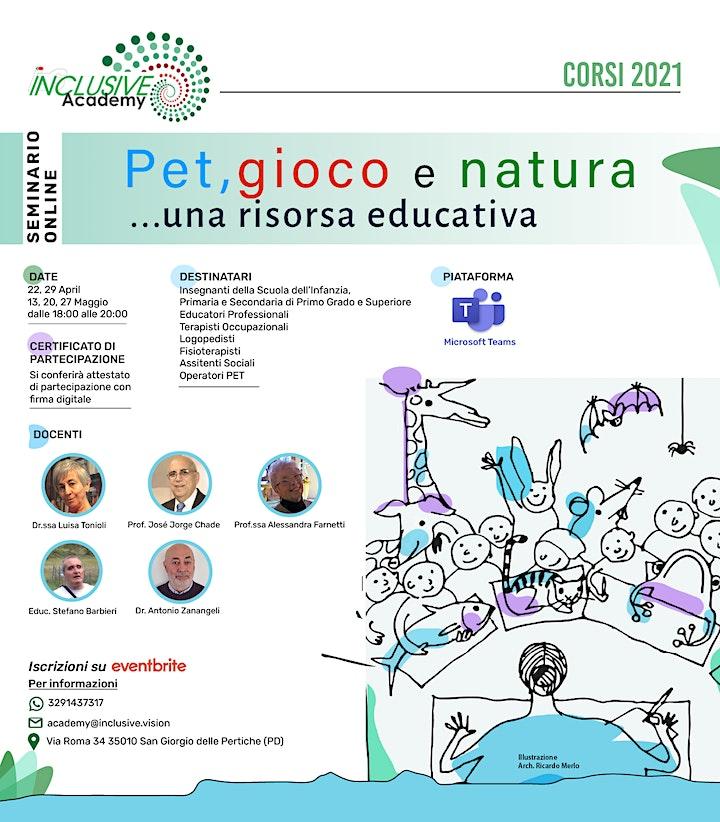 Immagine PET,GIOCO E NATURA...una risorsa educativa