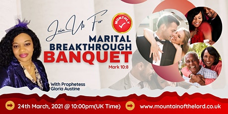 MARITAL BREAKTHROUGH BANQUET tickets