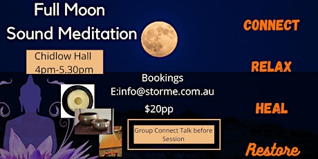 Full Moon Sound Meditation tickets
