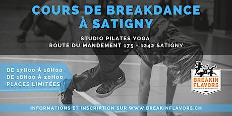 Cours Breakdance à Satigny billets