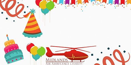 Online Birthday Party for Midlands Air Ambulance tickets