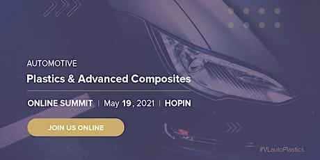 5th Automotive Plastics & Advanced Composites Summit tickets