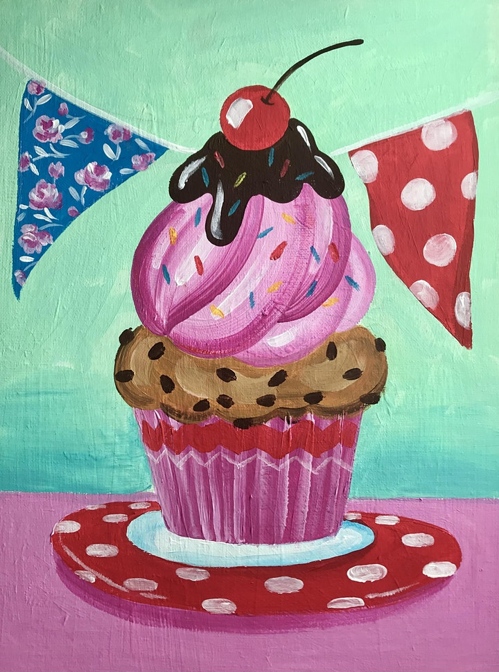 Easely Does It - Cupcake Kitsch- with Toni +14 day recording image
