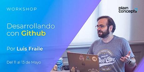Workshop Desarrollando con GitHub entradas