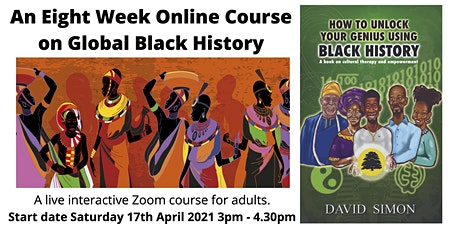 Online Global Black History Course For Adults tickets