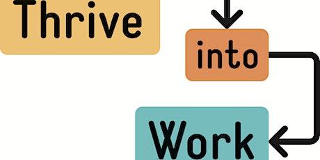 Thrive into Work Employment Support - Market Warming tickets