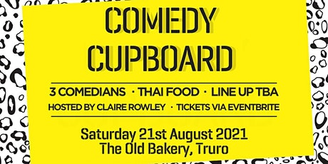 Comedy Cupboard - August 2021 tickets