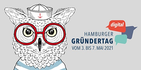 Hamburger Gründertag digital - 3. bis 7. Mai 2021 billets