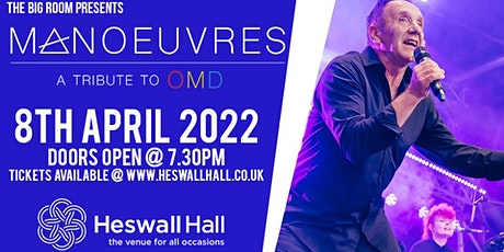 Manoeuvres - OMD Tribute tickets
