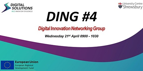 Digital Innovation Networking Group (DING) #4 tickets