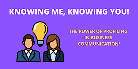 Knowing me, Knowing you-The power of profiling in businesses communication tickets
