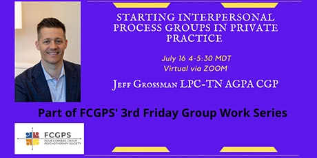 Starting Interpersonal Process Groups in Private Practice tickets