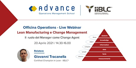 Lean Manufacturing  e Change Management biglietti