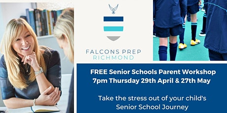 Senior Schools  Parents Workshop tickets