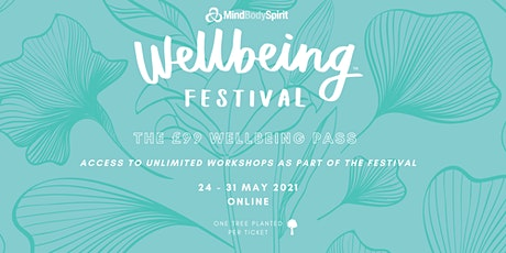 Online Wellbeing Festival 2021 Pass tickets