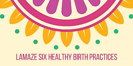 Lamaze Childbirth Series, 3 of 4 tickets